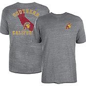 USC Authentic Apparel Men's USC Trojans Grey Proud Local Tri-Blend T-Shirt