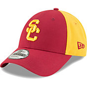 New Era Men's USC Trojans Cardinal/Gold The League Blocked 9FORTY Adjustable Hat