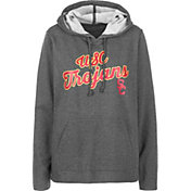 USC Authentic Apparel Women's USC Trojans Grey Amber Hoodie
