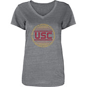 USC Authentic Apparel Women's USC Trojans Cardinal Sunbeam V-Neck T-Shirt