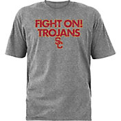 USC Authentic Apparel Youth USC Trojans Grey Starsky T-Shirt