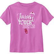 USC Authentic Apparel Infant Girls' USC Trojans Pink Tamra Short Sleeve T-Shirt