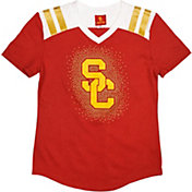 USC Authentic Apparel Youth Girls' USC Trojans Cardinal Decker T-Shirt