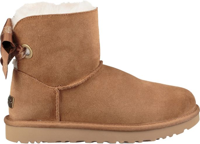 8c64ce2173c UGG Women's Customizable Bailey Bow Mini Casual Boots