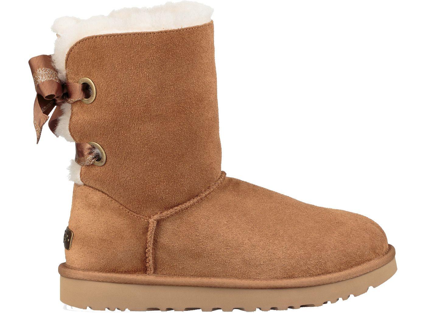 UGG Women's Customizable Bailey Bow Short Casual Boots