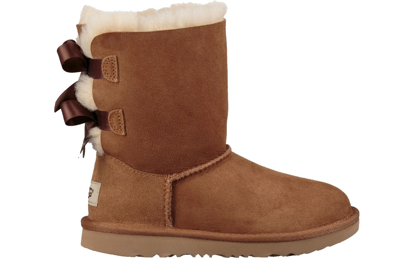 UGG Kid's Bailey Bow II Sheepskin Boots