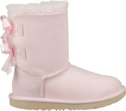 5e30676bb36 UGG Kid's Bailey Bow II Sheepskin Boots