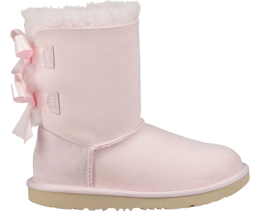 UGG Kid's Bailey Bow II Sheepskin Boots