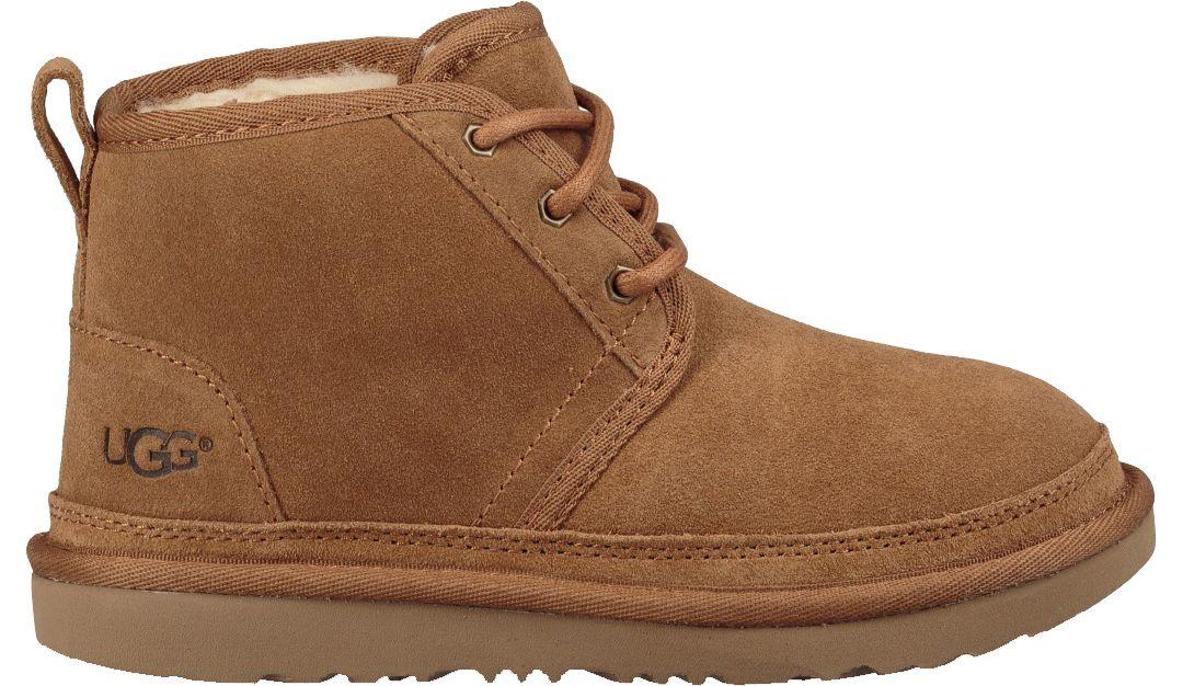 1c02120ffa0 UGG Kids' Neumel II Sheepskin Chukka Boots