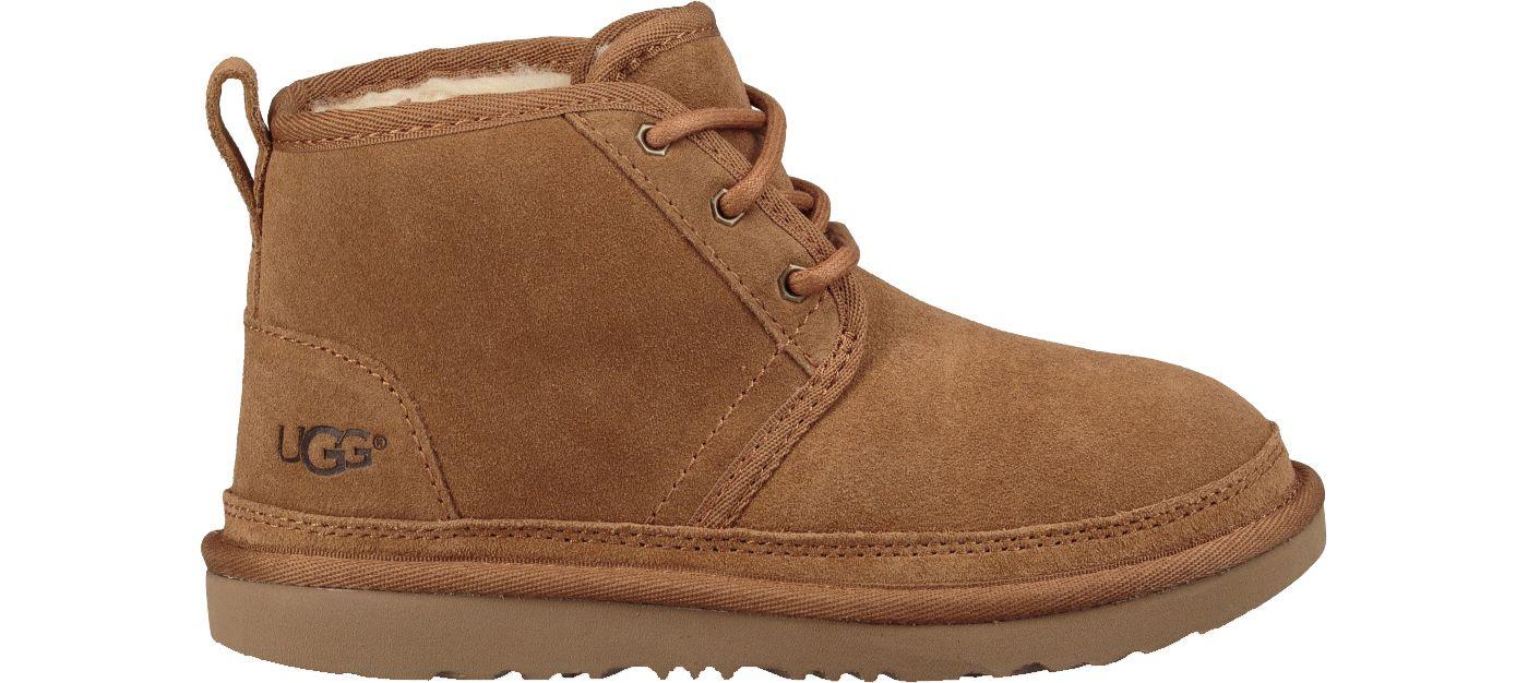 UGG Kids' Neumel II Sheepskin Chukka Boots