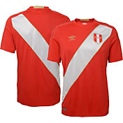 Umbro Men's 2018 FIFA World Cup Peru Away Replica Jersey