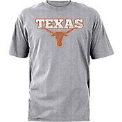 University of Texas Authentic Apparel Men's Texas Longhorns Grey Dedicated T-Shirt
