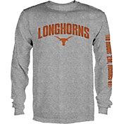 University of Texas Authentic Apparel Men's Texas Longhorns Grey Reflex Long Sleeve Shirt
