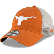 New Era Men's Texas Longhorns Burnt Orange 9TWENTY Trucker Worn Adjustable Hat