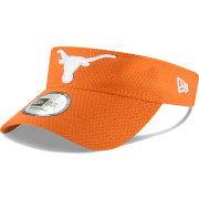 New Era Men's Texas Longhorns Burnt Orange Training Adjustable Visor