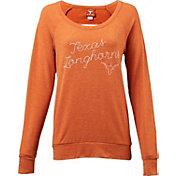 University of Texas Authentic Apparel Women's Texas Longhorns Burnt Orange Pericles Top