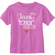 University of Texas Authentic Apparel Infant Girls' Texas Longhorns Pink Tamra Short Sleeve T-Shirt