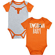 University of Texas Authentic Apparel Infant Texas Longhorns Vito 2-Pack Bodysuits