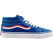 6f95a11cd14a7e Product Image · Vans Men s SK8-Mid Reissue MLB Cubs Shoes