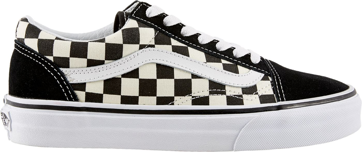 Vans Women's Primary Check Old Skool Shoes