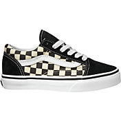 Vans Kids' Preschool Check Old Skool Shoes
