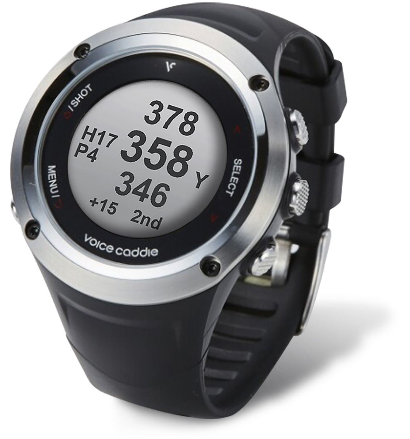 Voice Caddie G2 Hybrid Golf GPS Watch w/ Slope