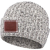 Love Your Melon Women's Black Speckled Cuffed Beanie