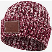 Love Your Melon Women's Burgundy Speckled Cuffed Beanie