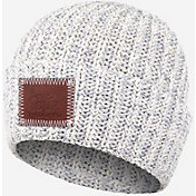 Love Your Melon Women's Gray Speckled Cuffed Beanie
