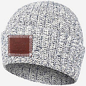Love Your Melon Women's Navy Speckled Cuffed Beanie