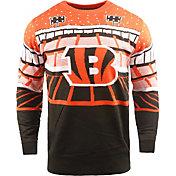 FOCO Men's Cincinnati Bengals Bluetooth Black Ugly Sweater
