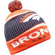 FOCO Men's Denver Broncos Light Up Pom Knit
