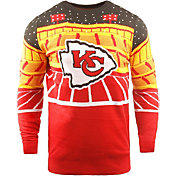 FOCO Men's Kansas City Chiefs Bluetooth Red Ugly Sweater