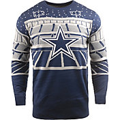 FOCO Men's Dallas Cowboys Bluetooth Navy Holiday Sweater