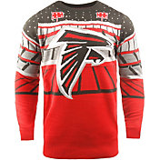 FOCO Men's Atlanta Falcons Bluetooth Red Ugly Sweater