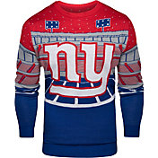 FOCO Men's New York Giants Bluetooth Royal Ugly Sweater