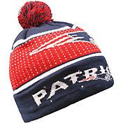FOCO Men's New England Patriots Light Up Pom Knit