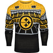 FOCO Men's Pittsburgh Steelers Bluetooth Black Ugly Sweater
