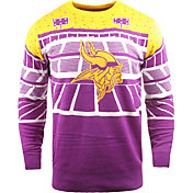 FOCO Men's Minnesota Vikings Bluetooth Purple Ugly Sweater