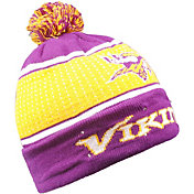FOCO Men's Minnesota Vikings Light Up Pom Knit