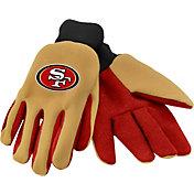 FOCO Adult San Francisco 49ers Work Gloves