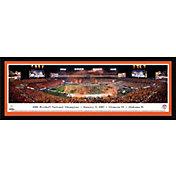 Blakeway Panoramas Clemson Tigers 2016 National Championship Framed Panorama Poster