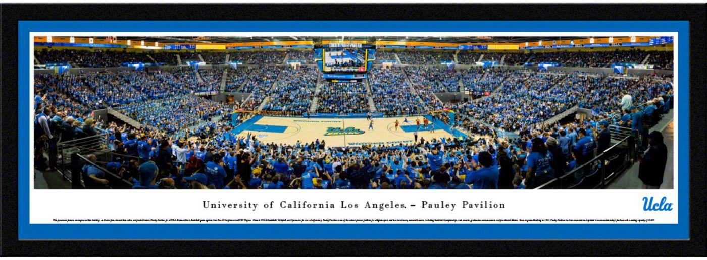 Blakeway Panoramas UCLA Bruins Framed Panorama Poster