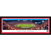 Blakeway Panoramas Georgia Bulldogs Framed Panorama Poster