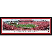 Blakeway Panoramas Louisville Cardinals Framed Panorama Poster
