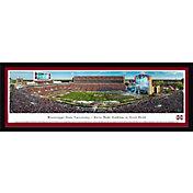 Blakeway Panoramas Mississippi State Bulldogs Framed Panorama Poster