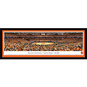 Blakeway Panoramas Syracuse Orange Framed Panorama Poster