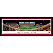 Blakeway Panoramas Virginia Tech Hokies Framed Panorama Poster