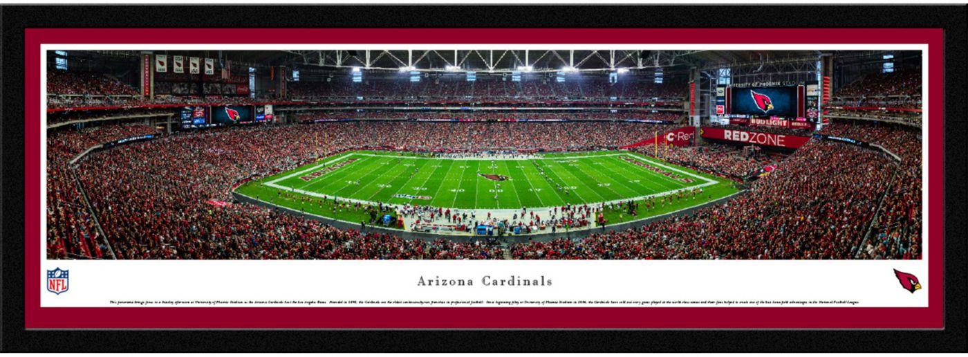 Blakeway Panoramas Arizona Cardinals Framed Panorama Poster