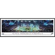 Blakeway Panoramas Super Bowl LII Champions Philadelphia Eagles Standard Framed Panorama Poster
